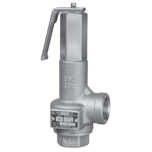 ヨシタケ:安全リリーフ弁 ソフトシート形 型式:AL-150TML-N-32A(C)