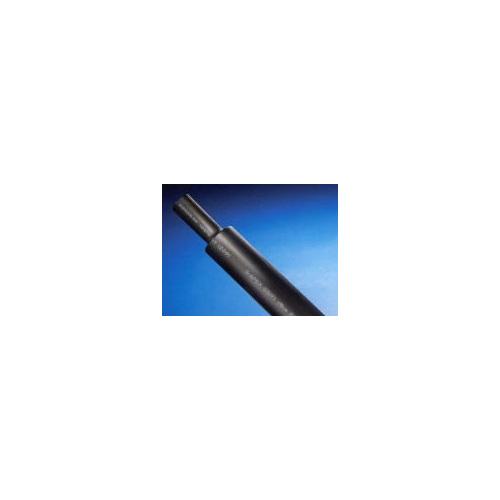 ハギテック:G5(難燃ポリオレフィン熱収縮チューブ) 型式:G5-15.0-黒(1セット:100m入)