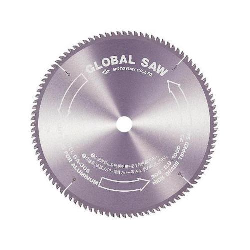 モトユキ:アルミ・非鉄金属用 チップソー 型式:GB-205-80