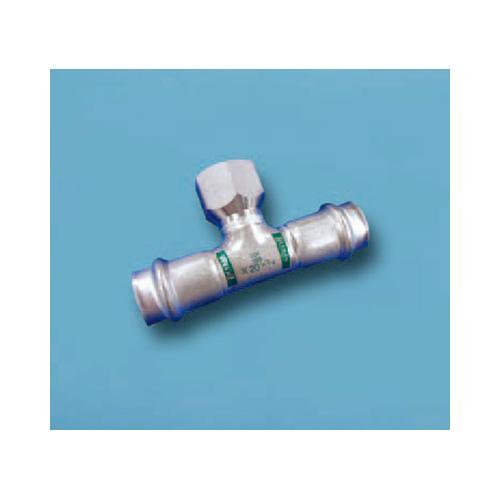 ベンカン:ダブルプレス 水栓ティー 型式:水栓T-60SU*1/2