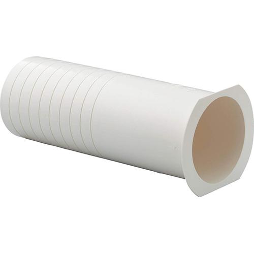 空調用配管器具品 空調配管化粧カバー エアコン配管材 正規逆輸入品 型式:FPW-70 因幡電機産業:ツバ付貫通スリーブ プレゼント 1セット:50個入
