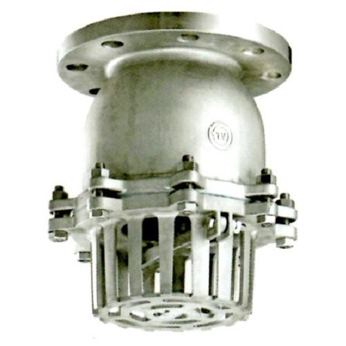 日東バルブ:ステンレス製フランジ型レバーなしフートバルブ 型式:934-40A
