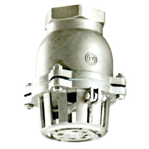 日東バルブ:ステンレス製捻子込レバー式フートバルブ 型式:931-20A