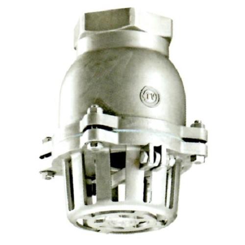 日東バルブ:ステンレス製捻子込レバー式フートバルブ 型式:931-25A