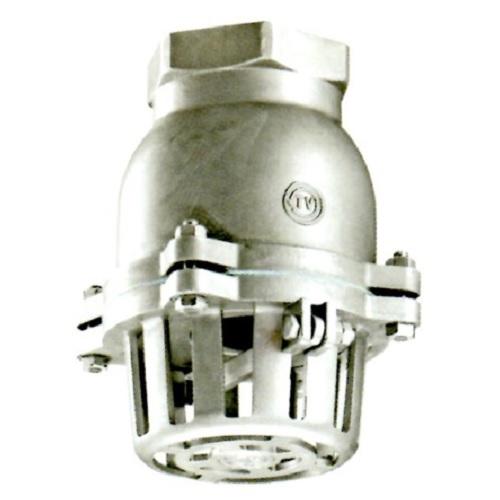 日東バルブ:ステンレス製捻子込レバー式フートバルブ 型式:982-80A