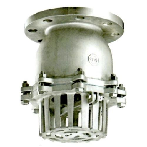 【サイズ交換OK】 型式:939-65A(レバー式):配管部品 店 日東バルブ:ステンレス製フランジ型レバー式フートバルブ-DIY・工具