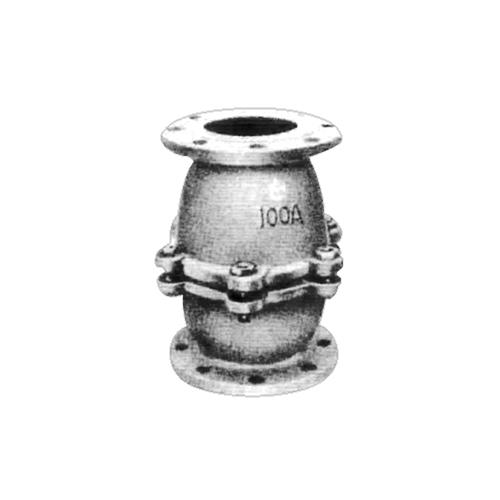 日東バルブ:FC製フランジ型鋳鉄製10K・5Kフランジ型T板式中間フートバルブ 型式:805-200A