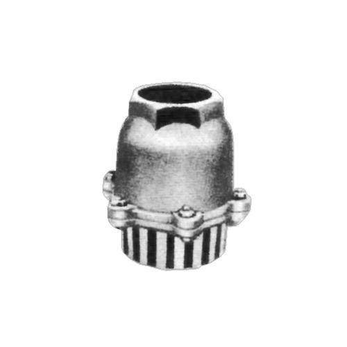 日東バルブ:FC製捻子込型鋳鉄型捻子込S入フートバルブ 型式:836-150A