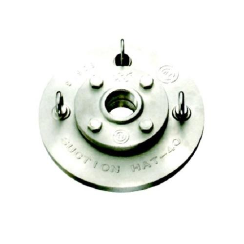 日東バルブ:ステンレス製フートバルブ用点検口サクションハット 型式:600S-50A
