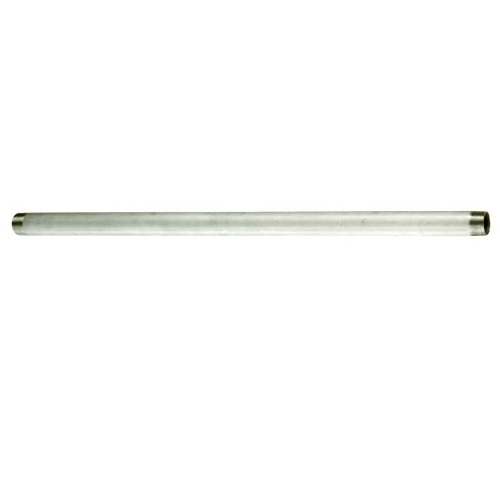 日東バルブ:フートバルブ用サクション管(フート管) 型式:サクション管α型 ネジ×ネジ SUS304-65A-1000