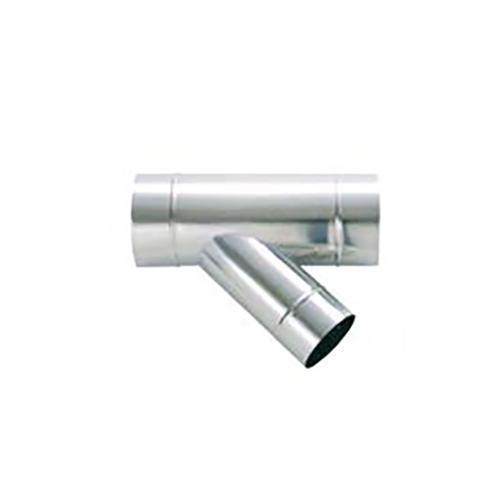 東洋アルチタイト産業:ステンレス製スパイラルダクト 45°Y管 型式:SD200Y