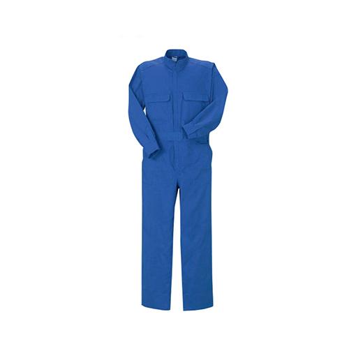 ブレイン:【綿100%】空調エアコン服つなぎ服[ウエアのみ](ブルー) 型式:BR-233-LL(ブルー)