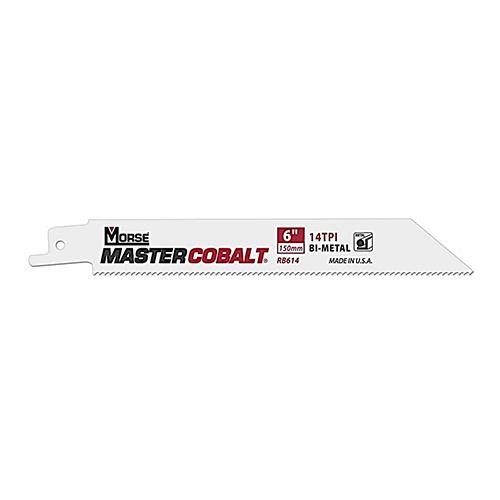 M.K.モールス:マスターコバルト・メタル・バイメタル・セーバーソー・ブレード(金属用) 型式:RB64214T25