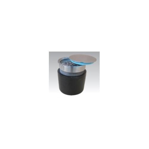 アウス:床排水トラップ(掃兼・内部目皿付き掃除口) 型式:D-5A-3CO