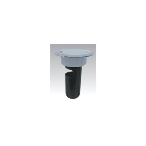 アウス:ツバ付ワンタッチ掃兼金具スーパートラップ付 型式:D-3CO-STD-PUーF-100