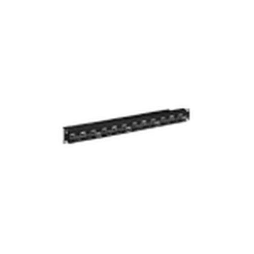 パナソニック:モジュラ型パッチパネル ブラック 型式:NR21227B