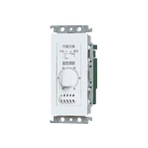 パナソニック:コスモシリーズ埋込ファンコイル用温度センサスイッチ(ホワイト) 型式:WTF5803W
