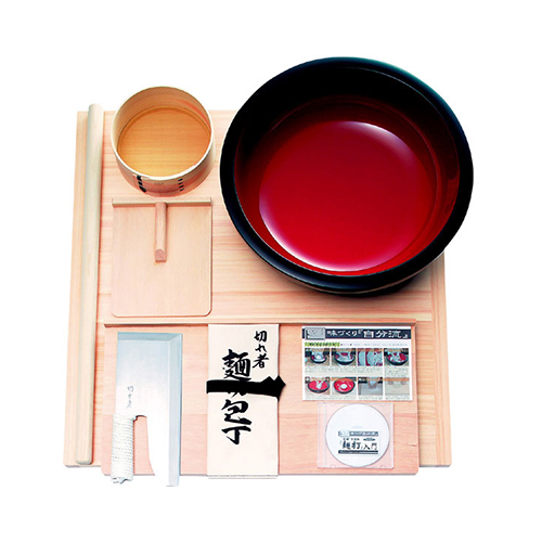 豊稔企販:麺打セット 雅 DVD付 型式:A-1550