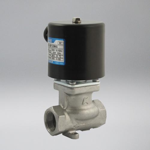 ケイヒン:ME6-SSPシリーズ 水・油・空気用 (ステンレス製キック式電磁弁) 型式:ME6-SSP-20WHK (AC200V)