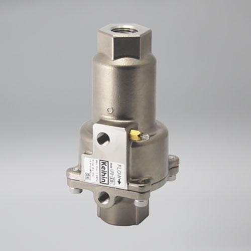ケイヒン:LP2シリーズ 水・油・空気用 (空圧式ピストン弁) 型式:LP2-25