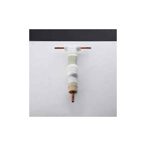 オーケー器材:継手専用冷媒分岐管 プレ加工ジョイント 型式:K-KHR58P216