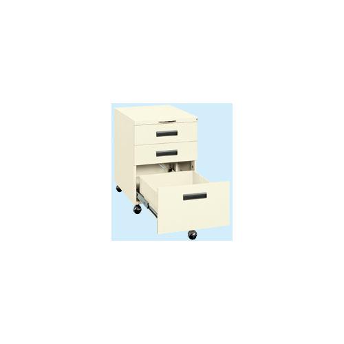 サカエ:作業台用キャビネットワゴン 型式:NW-3CBI