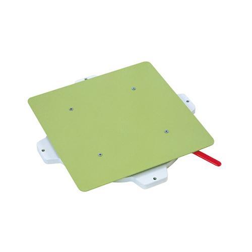 サカエ:クルクル回転盤・樹脂製 型式:PS-40STGL