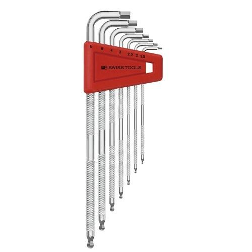 一般作業工具 六角棒レンチ PB 型式:3212LH-6 SWISSTOOLS:ローレット入六角レンチセット パックナシ クリアランスsale!期間限定! 超人気