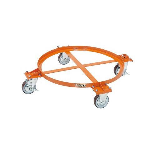 サカエ:円形ドラム台車 型式:DR-1S