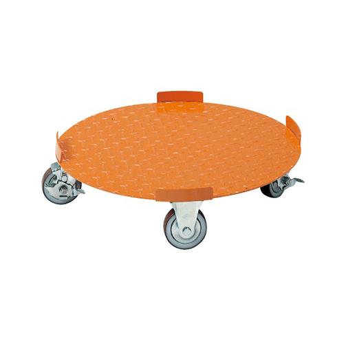 サカエ:円形ドラム台車 型式:DR-5