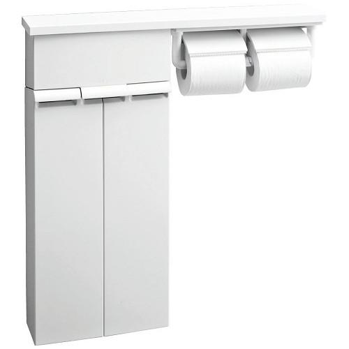 LIXIL(INAX):壁付収納棚(紙巻器付) 型式:TSF-110WU/WA
