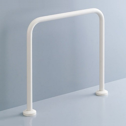 LIXIL(INAX):和風便器用手すり 床固定式樹脂被覆タイプ 型式:KF-131AE60/KE