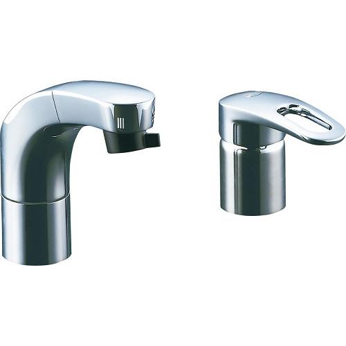 LIXIL(INAX):ホース引出式シングルレバー洗髪シャワー混合水栓 型式:SF-F810SYU