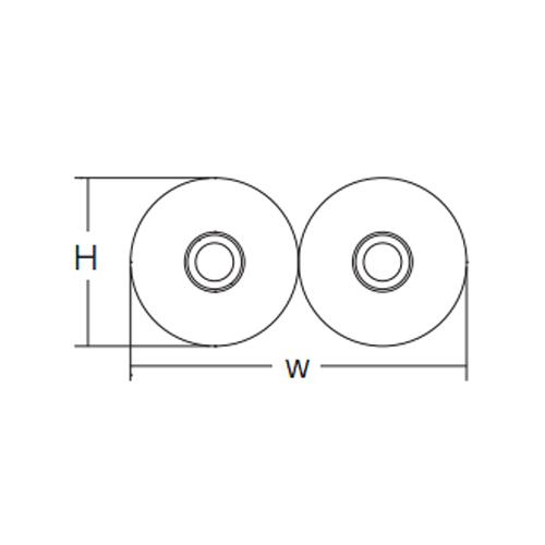 三菱ケミカルインフラテック:被覆ソフトペアチューブ・ダブルタイプ 型式:XLS-10HON10ペア