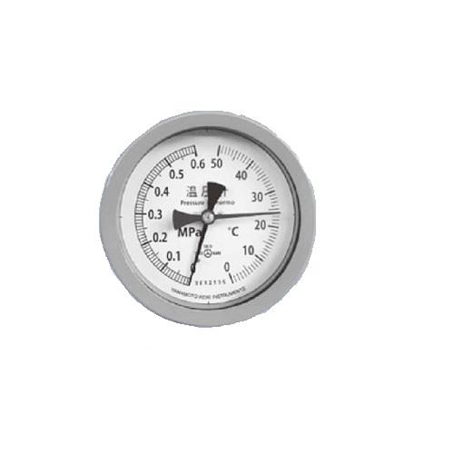 山本計器製造:温圧計(屋内外兼用) 型式:F243