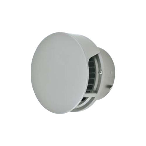 メルコエアテック:丸形防風板付ベントキャップ(覆い付)横ギャラリ・網 型式:AT-300TCWS