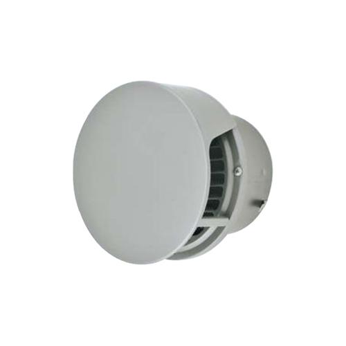 メルコエアテック:丸形防風板付ベントキャップ(覆い付)横ギャラリ・網防火ダンパー付 型式:AT-200TCWSK5