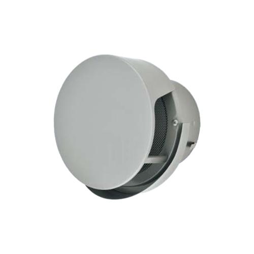 メルコエアテック:丸形防風板付ベントキャップ(覆い付・ワイド水切タイプ)網 型式:AT-200TCNSJ5