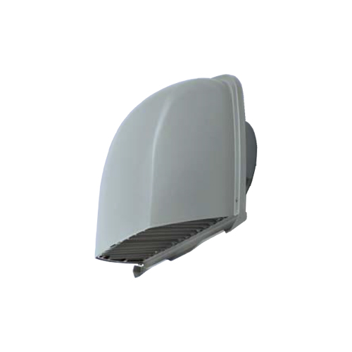 メルコエアテック:深形フード(ワイド水切タイプ)縦ギャラリ・網 防火ダンパー付 型式:AT-250FWSK5