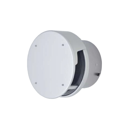 メルコエアテック:丸形防風板付ベントキャップ(覆い付)網防火ダンパー付 型式:AT-200TCNAD