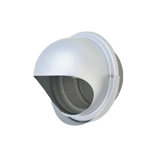 メルコエアテック:丸形フード(ワイド水切タイプ) 網 防火ダンパー付 型式:AT-200MNAJK4-BL