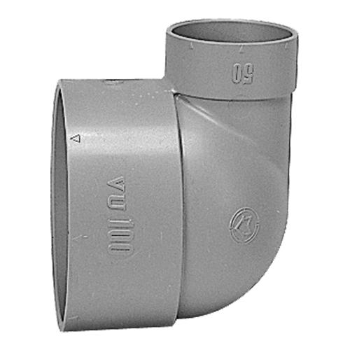 前澤化成工業:排水用VU異径エルボ 型式:VUL 100x50