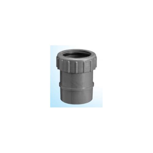 塩ビ製品 塩ビ継手 フランジ DV VU継手 新登場 型式:KYJ 40x50T 排水用 価格交渉OK送料無料 前澤化成工業:キッチンヤリトリジョイント 下流側VUパイプ内径接合