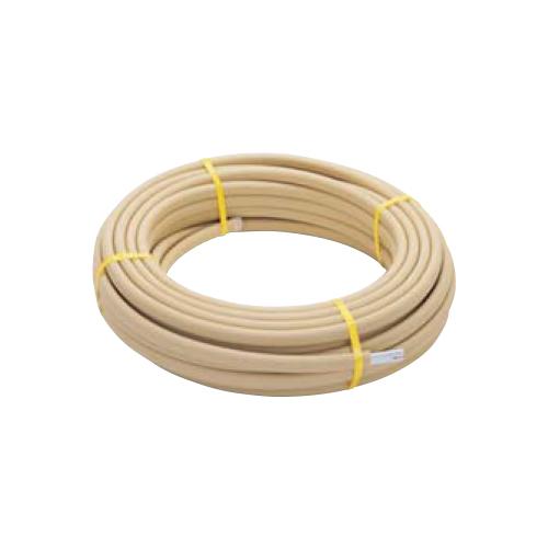 ミヤコ:高耐熱樹脂パイプ ペア アルミ巻サヤ管付 型式:M246HTJS-10x50m