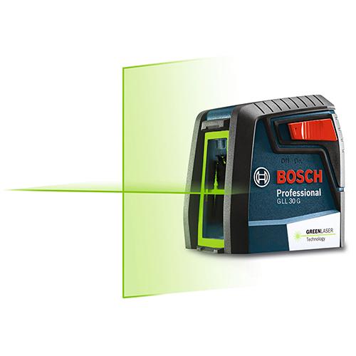 ボッシュ:レーザー墨出し器(グリーン) 型式:GLL30G