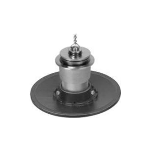 長谷川鋳工所:防水受つば付排水共栓 型式:COB-SO(SU)-40-接続管付