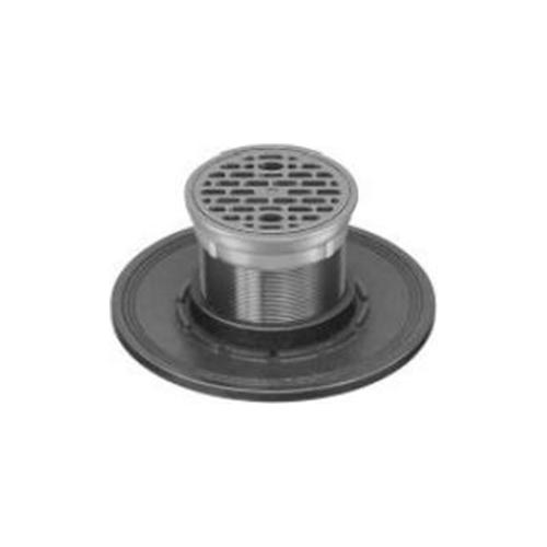 長谷川鋳工所:防水受つば付排水目皿 型式:COS-D(SU)-125
