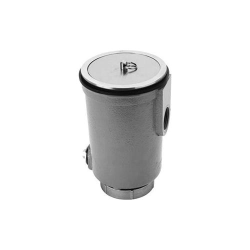 長谷川鋳工所:金属流し用鋳鉄製排水トラップ 型式:T14-AO(SU)-40