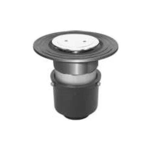 長谷川鋳工所:椀型鋳鉄製排水トラップ 型式:T5A-CIQ-FW付40-接続管付