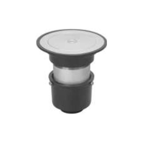 長谷川鋳工所:椀型鋳鉄製掃兼ドレン 型式:T5A-KSR-FW付50-接続管付